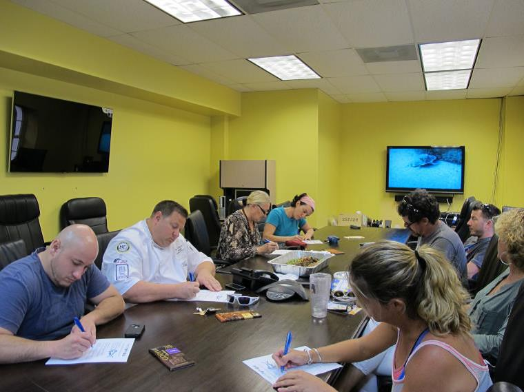 Sustainable Seafood 11 Restaurant Owners and Caterers Attend Workshop