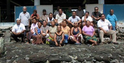 Community participants in a planning workshop. © Nimpal Channel MCA