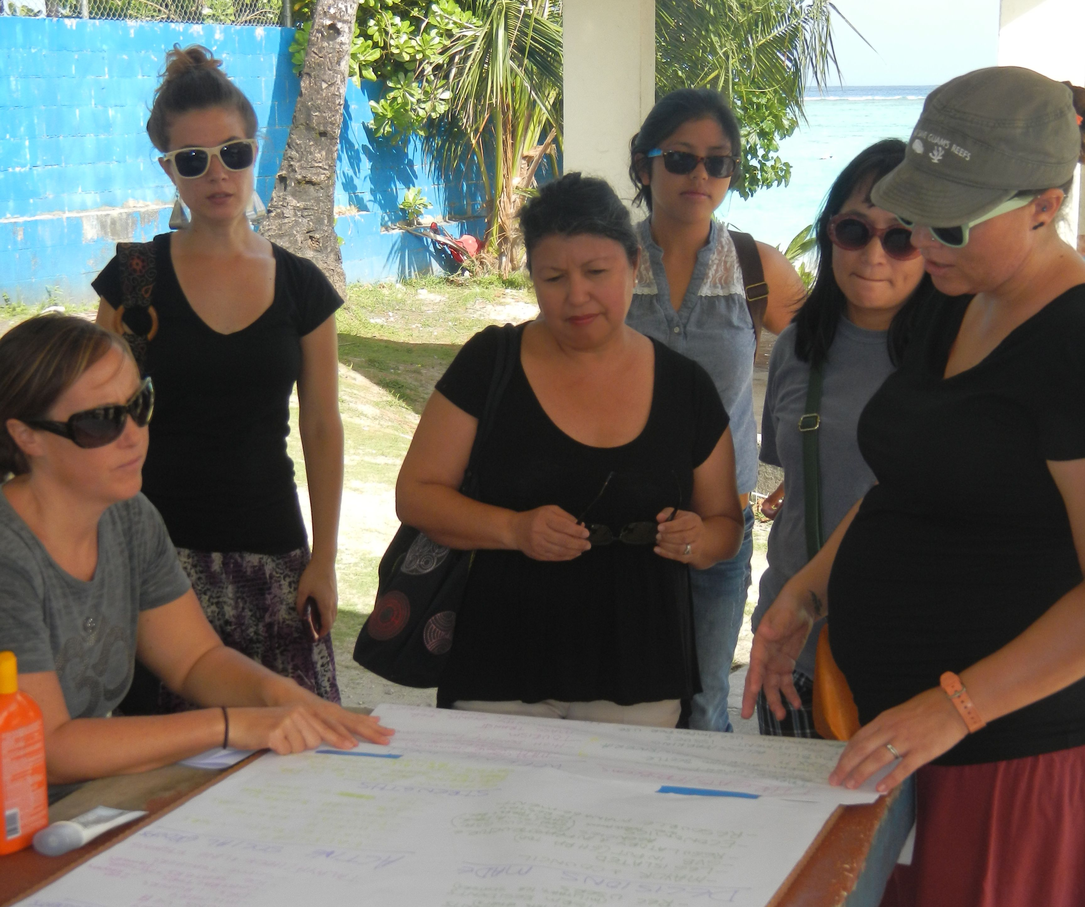 Caribbean reef managers participate in pacific learning exchange