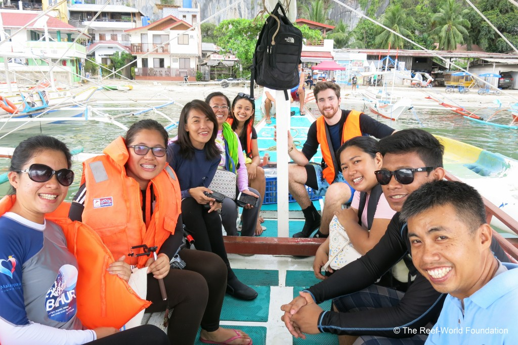 Green Fins Assessors in El Nido Philippines. Photo © The Reef-World Foundation