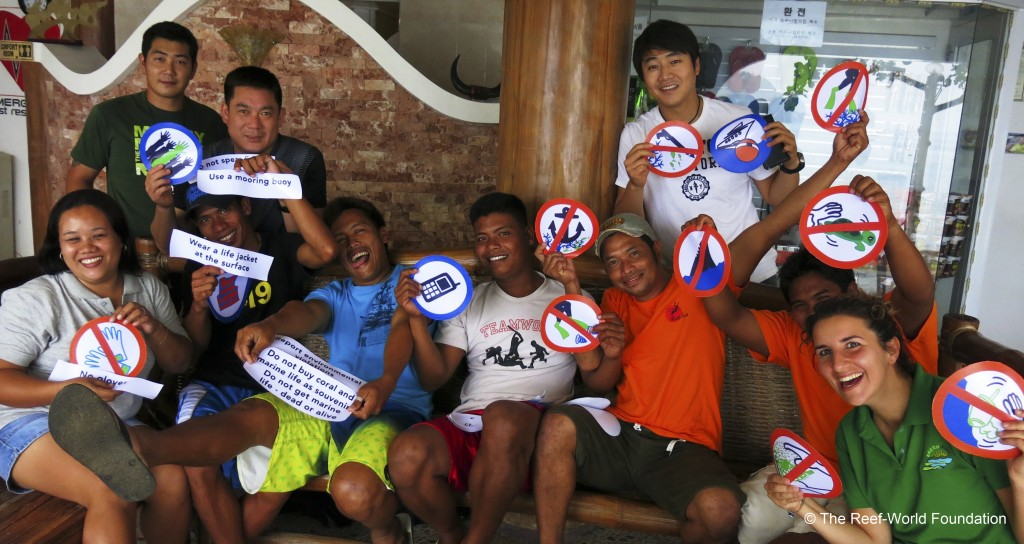 Green Fins Members in the Philippines. Photo © The Reef-World Foundation
