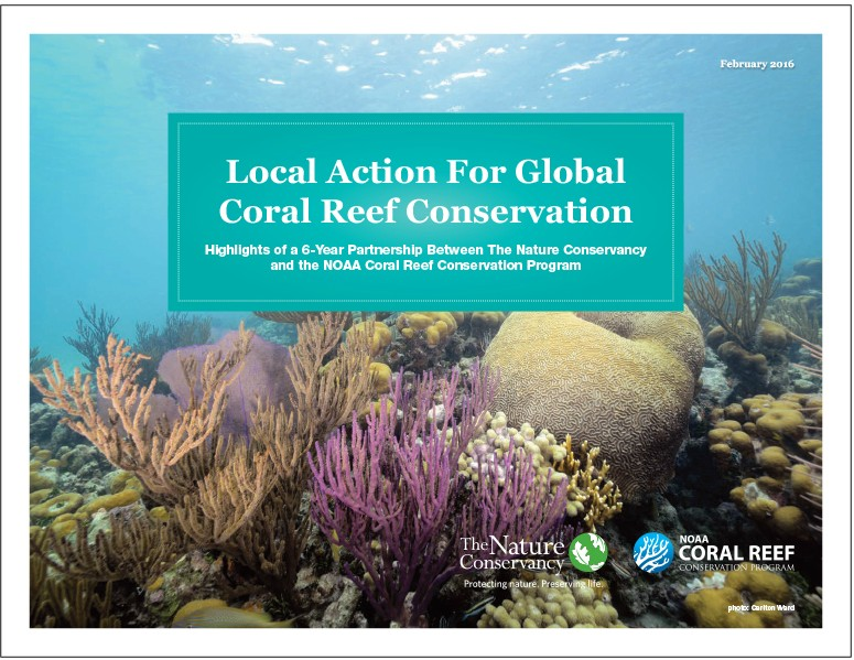 Local Action For Global Coral Reef Conservation