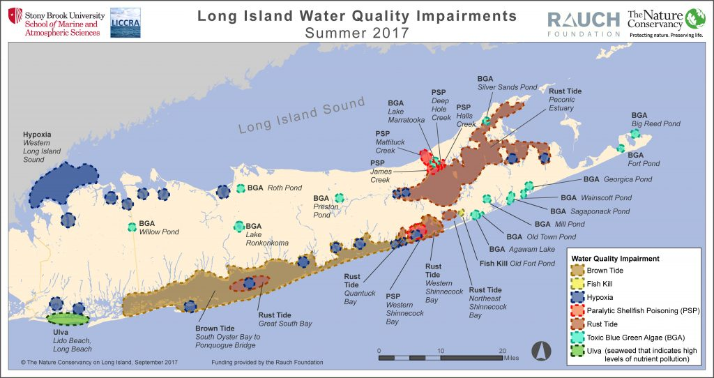 Map long island water quality impairments 2017